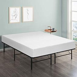 10 Comfort Premium Memory Foam Mattress and Bed Frame Set -