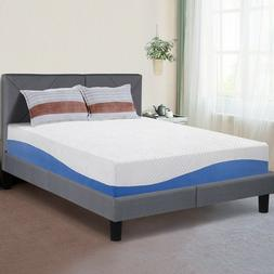 SLEEPLACE 10 Inch I GEL Memory Foam Mattress