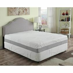 AC Pacific 12-inch Green Tea and Charcoal Memory Foam