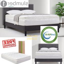 12 Inch Zinus Spring Support QUEEN Size Mattress Green Tea M