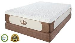 "DynastyMattress 13"" Luxury Cool-Breeze High Density 5lb GE"
