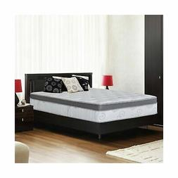 Olee Sleep 13SM01Q Q13Sm01Molvc Mattress, Queen, White, Grey