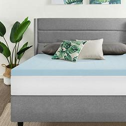 Best Price Mattress, 2.5 Inch Gel Memory Foam Mattress Toppe