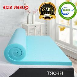 2 inch memory foam mattress topper comfort