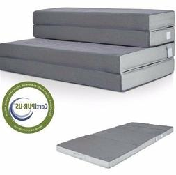 Best Choice Products 4 Folding Portable Mattress Full
