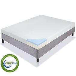 Best Choice Products 5 Dual Layered Gel Memory Foam Mattress