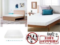 5 Inch Gel-Infused Memory Foam Comfort Mattress Firm Support