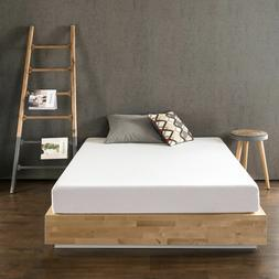 "6 8"" Pressure Relief Comfort Memory Foam Mattress, Full Quee"