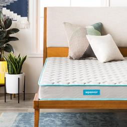 6 inch innerspring mattress with quilted cover