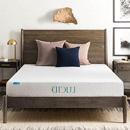 8 Memory Foam Mattress by LUCID Queen