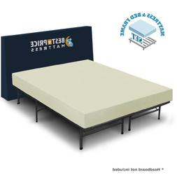 "Best Price Mattress 6"" Comfort Memory Foam Mattress and Bed"