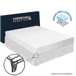 "Best Price Mattress 8"" Memory Foam Mattress and Premium Bed"