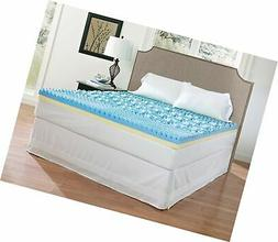 Broyhill Dual Layer Cooling Gel Memory Foam Mattress Topper,