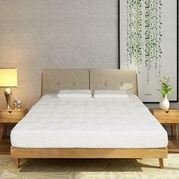 """New 8"""" inch Queen Size Cool Firm Memory Foam Mattress Bed wi"""