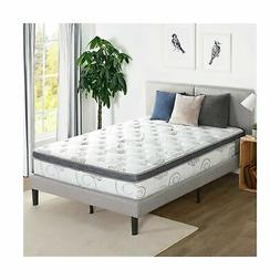Olee Sleep 12 inch Hybrid Euro Box Top Pocket Spring Mattres