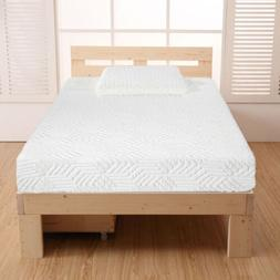 "Bedroom Furniture Twin Size 10"" Traditional Memory Foam Matt"