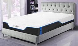 DynastyMattress New! CoolBreeze2-FIRM Cooling Gel Memory Foa