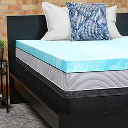 Sealy Performance 3-Inch Cooling Gel Memory Foam Mattress To