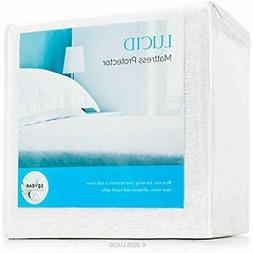 Cover Pad Memory Foam Mattress Queen Size Protector Bed Bug
