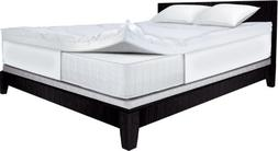 Serta 4-Inch Dual Layer Mattress Topper, Queen