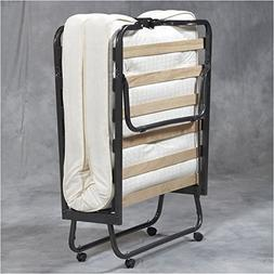 Pemberly Row Folding Bed with Memory Foam Mattress