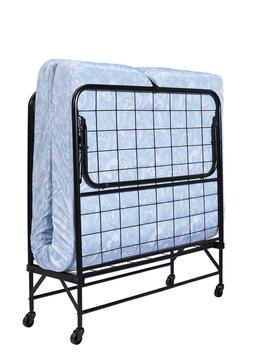 folding rollaway twin guest bed frame