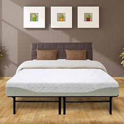 "Best Price Mattress 9"" Gel-Infused Memory Foam Mattress & Du"