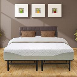 "Best Price Mattress 11"" Gel-infused Memory Foam Mattress & 1"