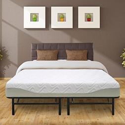 "Best Price Mattress 9"" Gel-Infused Memory Foam Mattress & 14"