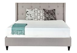 Irvine Home Collection 10-Inch Gel Memory Foam Mattress-Full