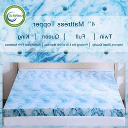 gel memory foam mattress topper 2 5