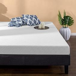 Zinus 6 Inch Gel-Infused Green Tea Memory Foam Mattress, Que