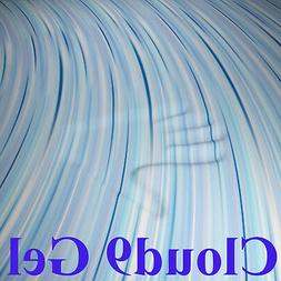 "CLOUD9 GEL CAL KING 4"" MEMORY FOAM MATTRESS PAD, BED TOPPER"
