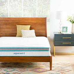 Linenspa Hybrid Mattress 8 | 10 Inch Memory Foam And Innersp