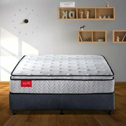 Memory Foam Mattress Queen Bed in Box Twin 10.5 Inch Hybrid