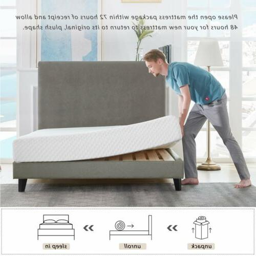 "10"" COOL Infused Memory foam Mattress"
