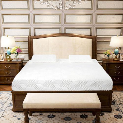"10"" Size 3-Layer COOL Memory Mattress and Cover"