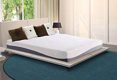 10 in aquarius memory foam mattress full