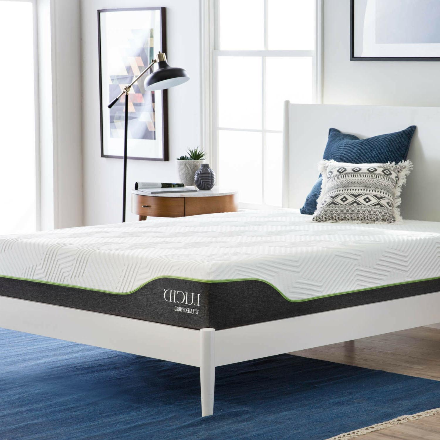 LUCID 10 inch Innerspring and Mattress - Full