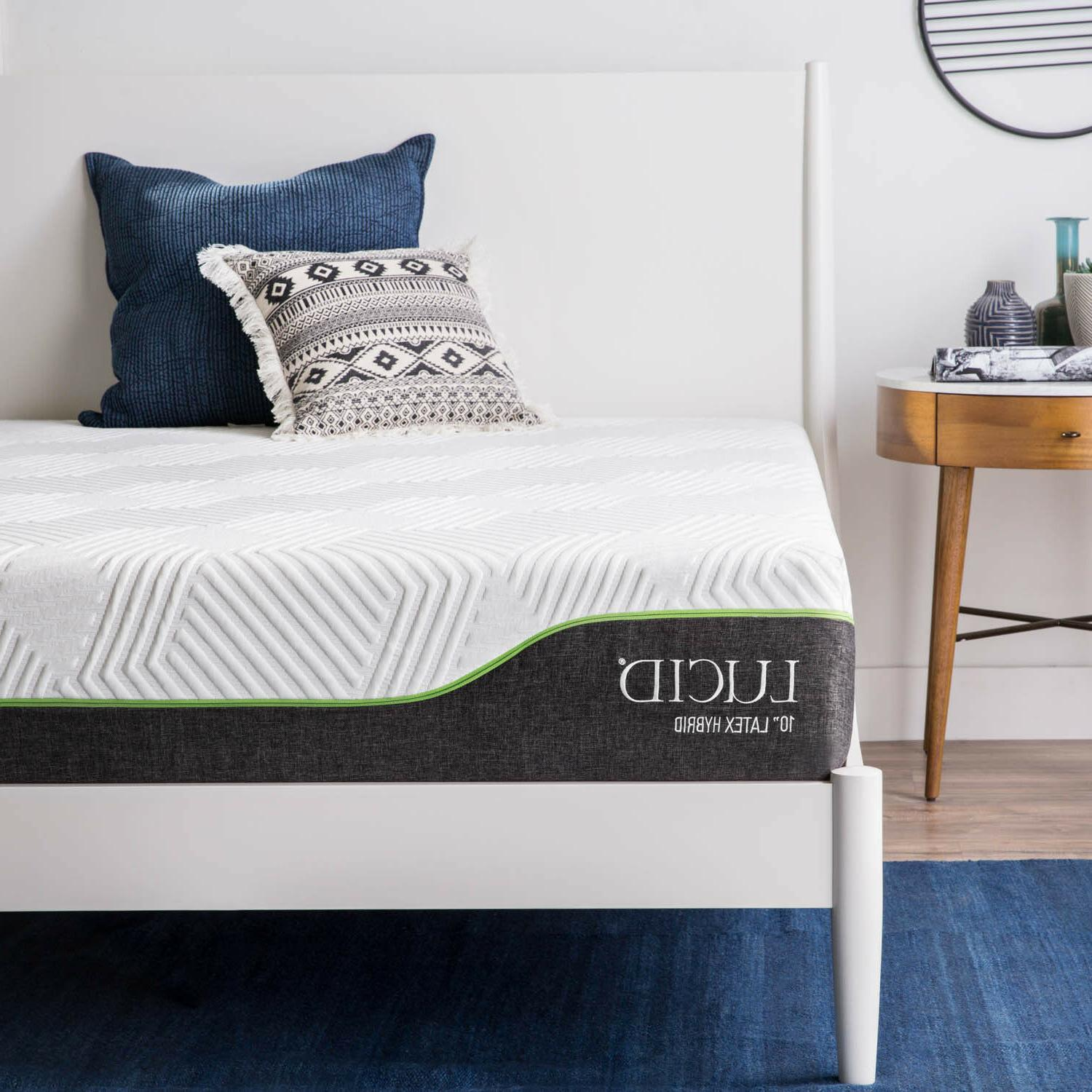 LUCID 10 inch and Mattress Twin