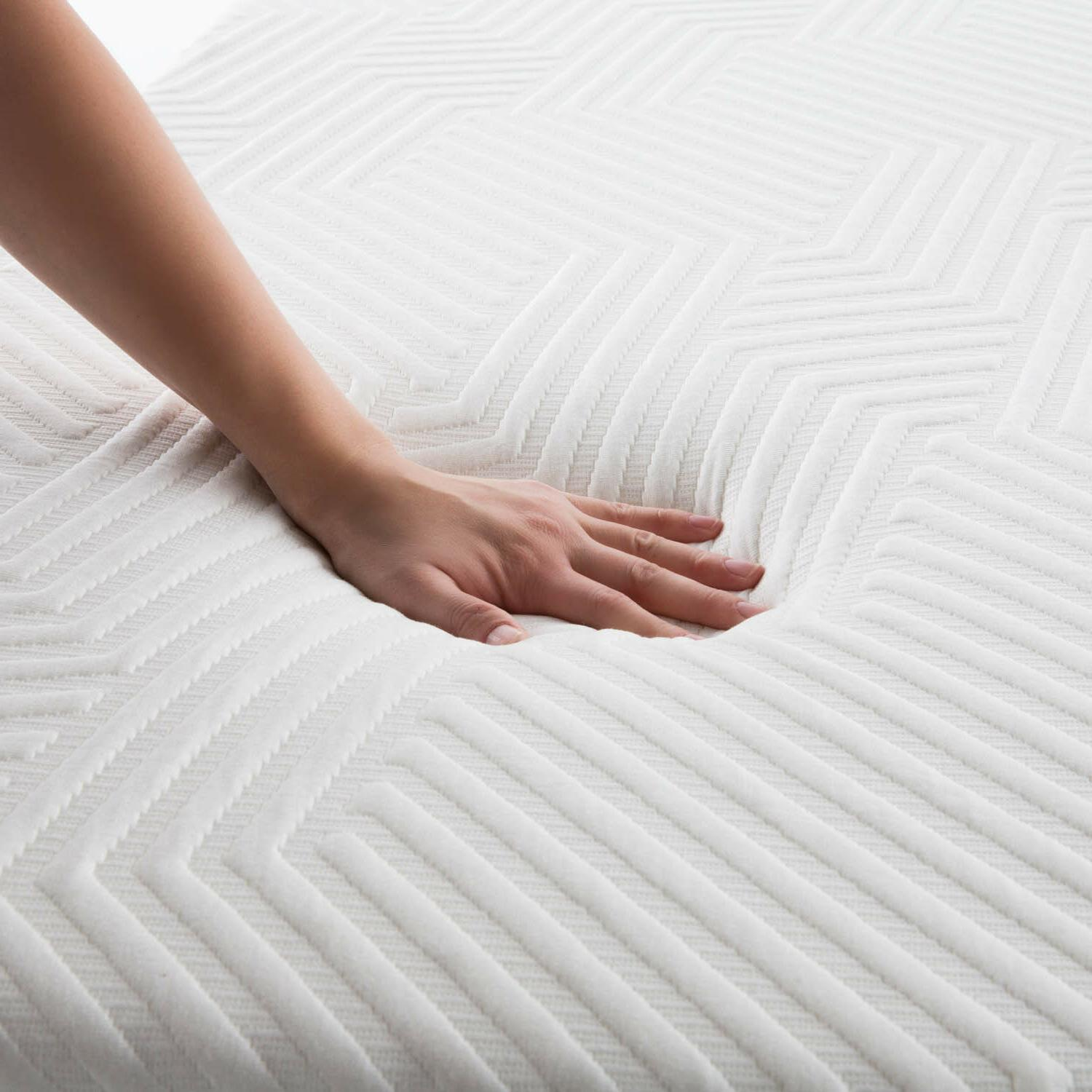 LUCID 10 inch and Memory Mattress - Twin