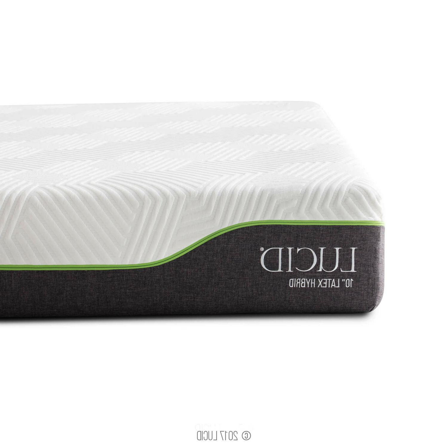 LUCID 10 inch and Mattress - Twin
