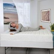 Spa Sensations 10'' Memory Foam and Spring Hybrid Mattress,