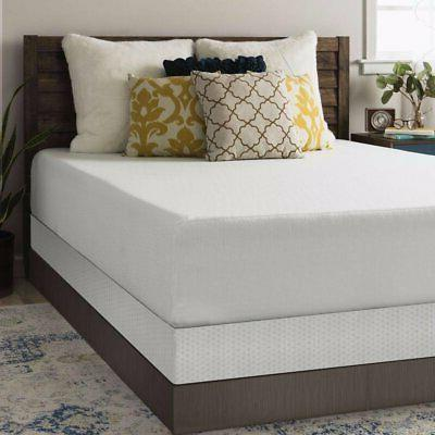 12 inch memory foam mattress and bi