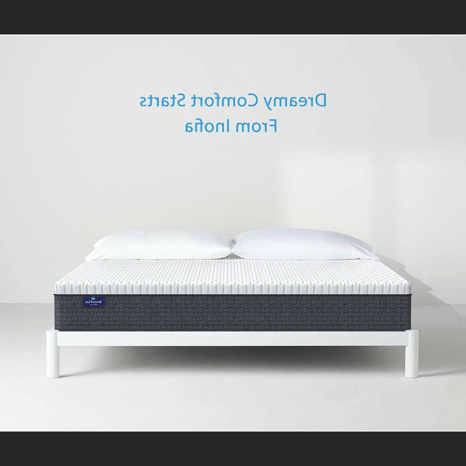 12 Cool Memory Foam Double Mattress CertiPUR-US Removable