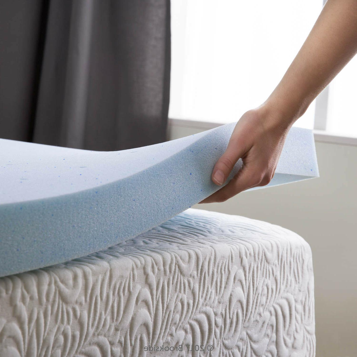 2 5 inch cooling gel memory foam