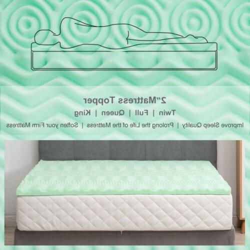 2 inch Mattress Medium-firm Pad