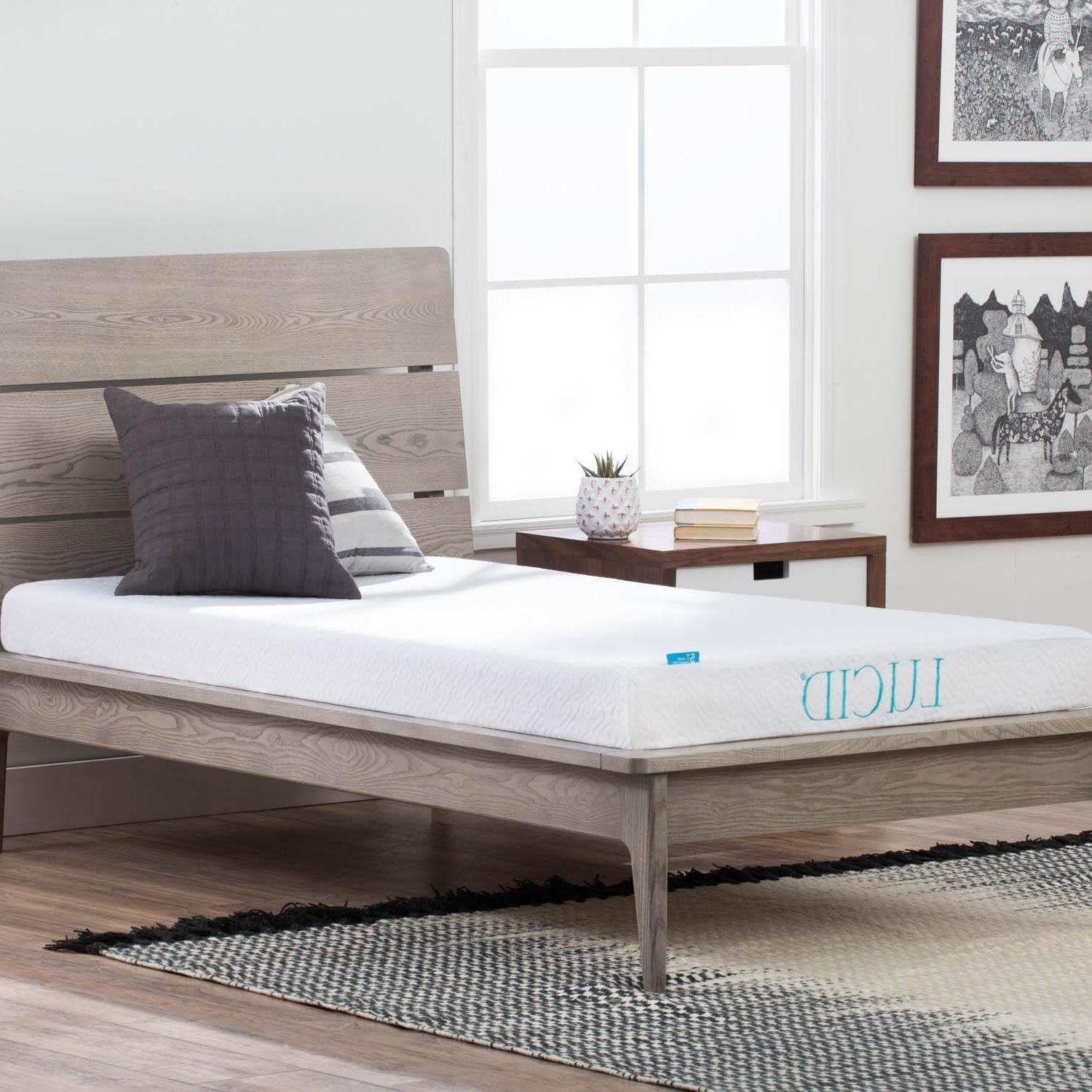 LUCID inch BED - Foam Twin Twin Full