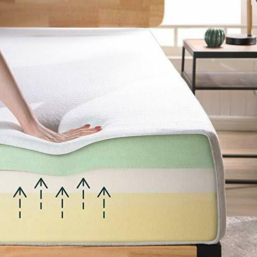 Zinus Memory Mattress Relieving Bed-in-a-Box,