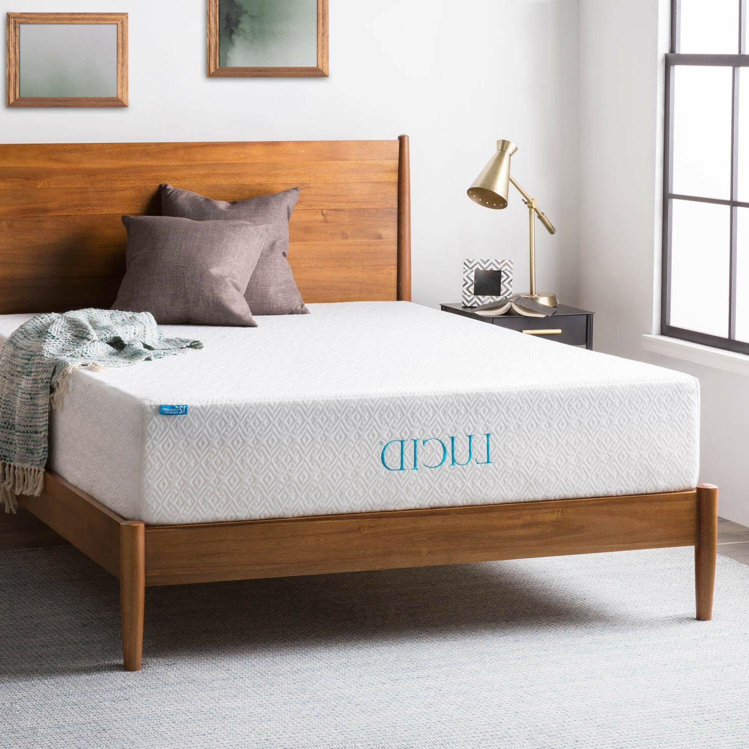 LUCID 10, and 12 Memory Foam - Twin Full Queen